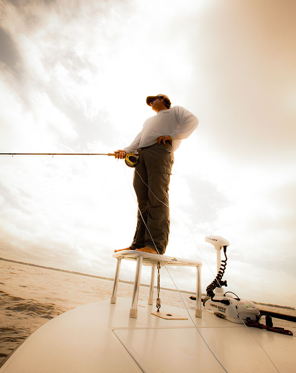 fly fishing with Capt Brett Martina in Apalachicola, FL